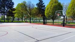 호주 내 뜨거운 세일 품질 보증 모바일 플라스틱 농구 코트