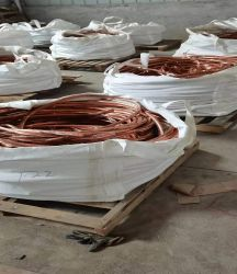 컴프레서용 내부 공급 코팅된 구리 와이어 로드