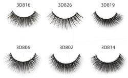 سعر الجملة المصنع 25 مم 3D 5D Mink eyelash faux eyelash تغليف صندوق الرماد