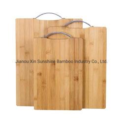 工場では、滑り止め竹製まな板キッチン用品を使用しています