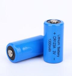 2/3une taille Li-Mno2 primaire CR CR123A17335 3V 1300mAh Batterie