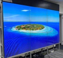 Coreia Painéis importados 55 Polegadas Super 3,5mm moldura estreita 4K LCD na parede de vídeo com Video wall Controller