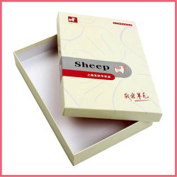China cartón impreso personalizado Camiseta de papel de proveedor fabricante cuadro Factory