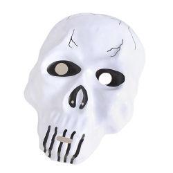 文字が服を着せる新しいArrirals Halloweenのマスカレード党はプラスチックマスクの恐怖子供のおもちゃを支える