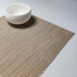 Napperons en tissu Textilene tapis en PVC dessous de verre
