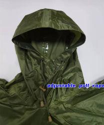 معطف مطر للبالغين بوليستر مطر بونشو PVC مطر بونشو فيشرمان معطف مطر رياضات