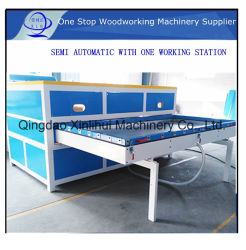 木工用 PVC ホットメルト塗工機 / ドア真空プレス積層機 / 木製フィルムラミネート加工機、産業用ラミネート加工機