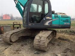 Usado escavadeira Kobelco SK200-8 com perfeita qualidade e preço incrível na venda a quente. Origem em segunda mão Japão Kobelco 20 Ton via coveiro SK200-8 Venda Quente