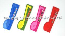 6 Bouton Pad sonore dans la note, de la piscine en forme de livre sonore Toddler musical
