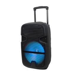 مضخم صوت بلاستيكي Bluetooth® فردي نشط مقاس 8 بوصات، وإقران نشط مقاس 2.0 بوصة مكبر صوت الحامل المتحرك