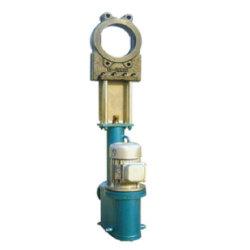 전기 유압 액추에이터 통합형 전기 유압식 슬러리 나이프 밸브 게이트