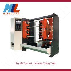 Rq-650 Automático CNC Ctrl Four-Axis Dispositivo de corte para filmes, Die, produtos de material da bobina de papel.