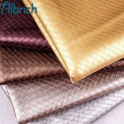 Motif tissé PVC Cuir artificiel pour la fabrication de sac fourre-tout