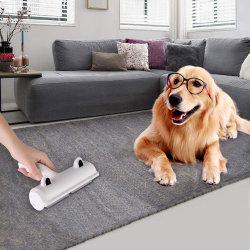 Rolete de remoção de pêlos Pet Dog Escova de pêlo de gato removendo Cão Gato cabelo dos tapetes de mobiliário de vestuário pano autolimpante