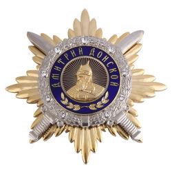 カスタムロゴの卸売亜鉛合金の柔らかいエナメルのスポーツ賞の記念品の金属メダル