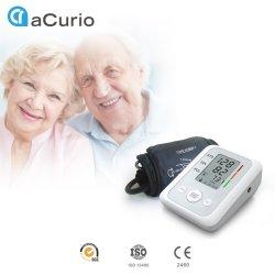 ISO MARCAÇÃO CFDA Venda por grosso de máquinas de cuidado médico Digital Monitor Automático do Braço Superior Eletrônico Medidor de Pressão Arterial com voz
