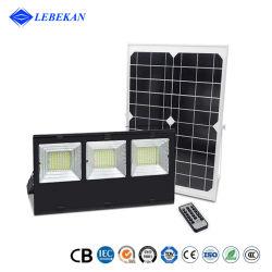التصميم الخارجي عالي القدرة بقدرة 100 واط بقوة 120 واط و180 واط و200 واط، أبيض بارد، قابل لإعادة الشحن مصباح الطاقة الشمسية الخارجي بنظام IP65 Square Garden Parking Lot System Energy System الإضاءة
