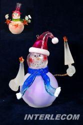 Luzes de LED de Decoração de Natal de acrílico para lâmpada de mesa