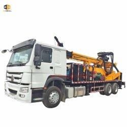 광업과 채석장 기업에서 대중 Ddrilling 800meters를 위한 CSD800 트럭 유형 우물 드릴링 리그