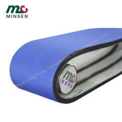 Factory Industrial PVC Special Processing Foam Coating Blue Cloth 스폰지 컨베이어 벨트