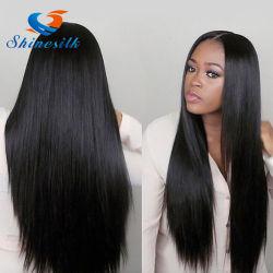 Droit brésilien vierge pas cher de cheveux humains brésilien cheveux soyeux droites Tissage de cheveux