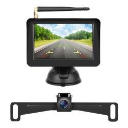 車両リバースカメラシステム(可動ガイドラインリバースキット付き 無線駐車場、無線 LAN カメラ