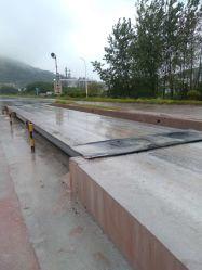中国速い配達のトラックのスケールの工場の重量を量る80トンの手段