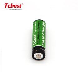 USB batería recargable de litio AA AAA 2200mwh Li-ion 1.5V AA Pack de baterías 2 baterías de litio 1,5V AA USB cargador de batería recargable de litio