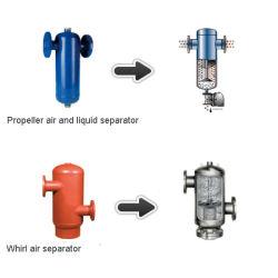 Separador de líquidos de gás- Separação heterogêneos