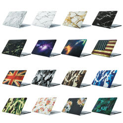 Het kleurrijke Laptop van de Beschermende Dekking van de Computer van de Stijl van de Sticker van het Water Geval van de Koker voor MacBook Lucht 13.3