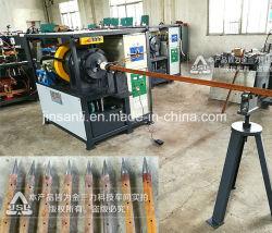 Freccia ferroviaria del tubo del traforo che forma la macchina della costruzione del modanatura