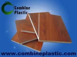 Placa de espuma de PVC com diversos laminação de PVC para Mobiliário e Decoração de parede