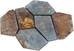 中国S1120の性質によって錆着色されるスレートの敷石または壁の石か純のりに床を張ること