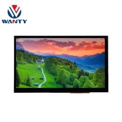 شاشة TFT مزودة بوحدة شاشة LCD مقاس 7 بوصات 800×480 HDMI من المورِّد الصيني 5Points Cap Touchscreen PCAP شاشة لوحة اللمس Capacitive Touch Panel