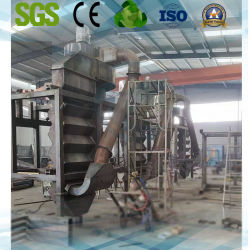 Classificador de ar para os resíduos da indústria de construção com alta eficiência