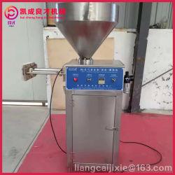Caixa de aço inoxidável Pneumatic Enrolamento automático do enchedor de salsicha