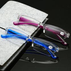 Commerce de gros bon marché de promotion des lunettes de lecture PC d'injection de lunettes de lecture