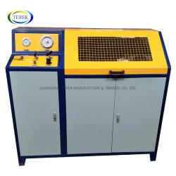 Impulsado por aire Terek Kit de prueba de presión hidráulica para tubo flexible de // y la válvula del cilindro