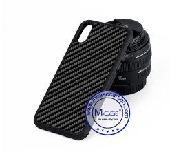 Новые дешевые черного углеродного волокна из термопластичного полиуретана для мобильных ПК аксессуары для телефонов для iPhone X дела