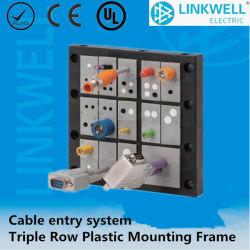 Des panneaux Entrée de câble de bâti de montage en plastique (SEC24 2ET)