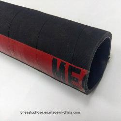 Black 1 2 3 pouces en caoutchouc souple Flexible d'aspiration de pompe à eau