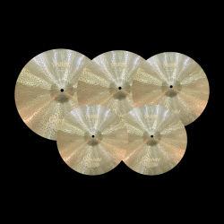 Fait main set de batterie de cymbale chinois