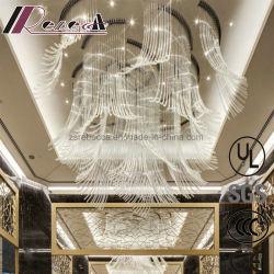 現代ガラス管デザインペンダント灯の照明はのための飾る
