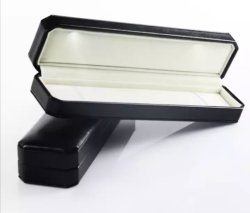 Spitzen-LED-heller Plastikarmband-Kasten-Geschenk-Ring-Kasten