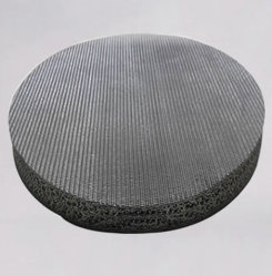 Aço inoxidável fio sinterizado Filtro de Malha