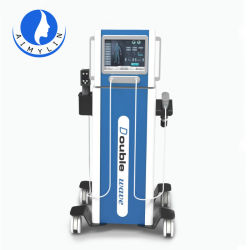 Elektromagnetische und pneumatische 2 der Stoßwelle-Therapie-Maschine in 1 für rückseitige Schmerz-Entlastungs-Penis-Vergrößerungs-Stoßwelle-Schönheits-Maschinen-Salon-Gebrauch