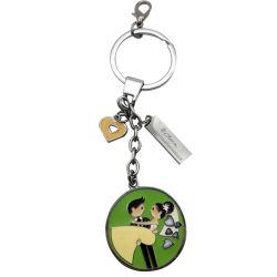 Chaîne de clés avec photo de mariage