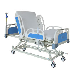 Bedden van het Ziekenhuis van het Product ICU van de gezondheidszorg de Elektro met Slot Centrol