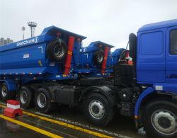 6축 70톤 덤프카 트럭 세미 트레일러 컨테이너