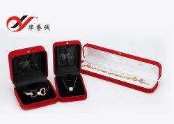 Red Velvet Jewelry Box Voor Jewelry Set Display